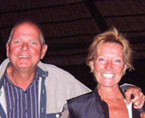 owners of Mbamba beach lodge
